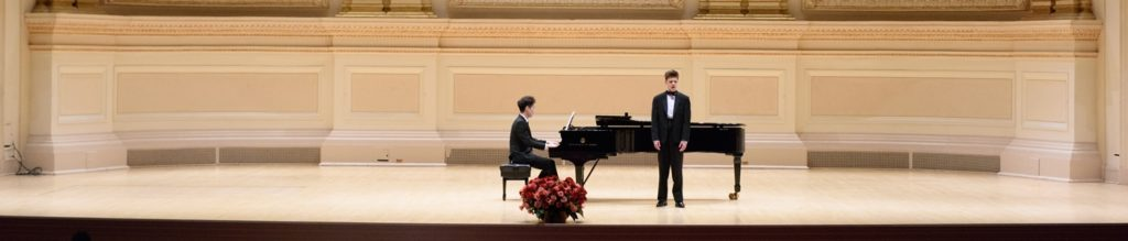 Singing at Carnegie Hall 2017
